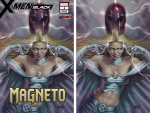 X-Men Black Magneto #1 Lucio Parrillo Two Cover Set