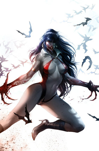 VAMPIRELLA VALENTINES DAY SPECIAL #1 MATTINA VIRGIN COVER
