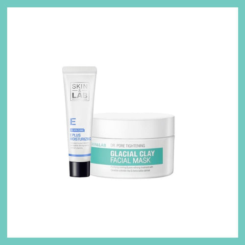 E Plus moisturizer + facial mask Set