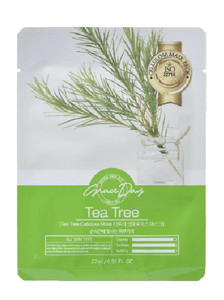 GRACE DAY Traditional Oriental Mask Sheet - Tea Tree 27ml