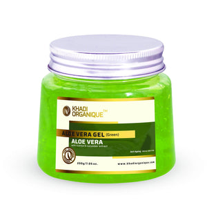 KHADI ORGANIQUE Aloe Vera Gel (green)