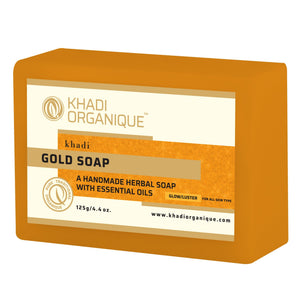 KHADI ORGANIQUE Gold Soap