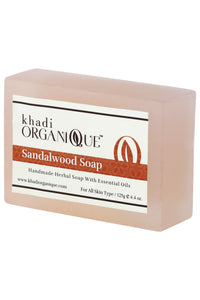 KHADI ORGANIQUE SANDALWOOD SOAP
