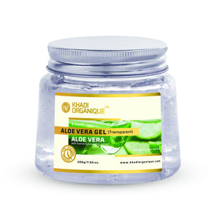 KHADI ORGANIQUE Aloe Vera Gel (TRANSPARENT)