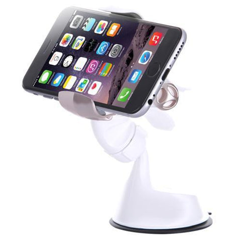Buy 1 GET 1 - Phone Holder Made in Korea FX #Black/Yellow