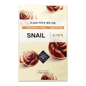 0.2 Therapy Air Mask 20ml #Snail Smoothening and Firming