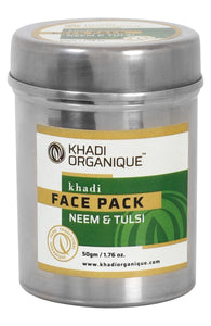 KHADI ORGANIQUE Neem & Tulsi Face Pack