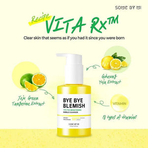 SOME BY MI -Bye Bye Blemish Vita Tox Brightening Bubble Cleanser
