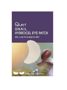 QURET Snail Hydrogel Eye Patch