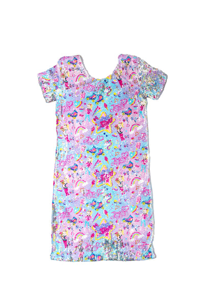 SHINE BRIGHT DELUXE SEQUIN DRESS