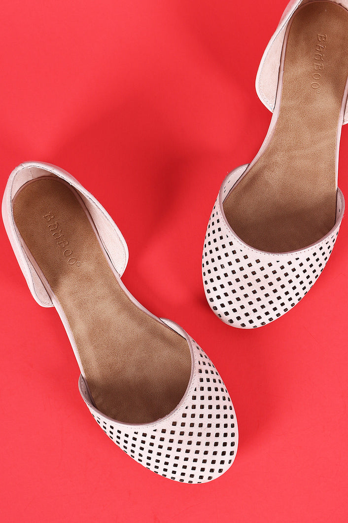 Bamboo Perforated Two-Piece Flat