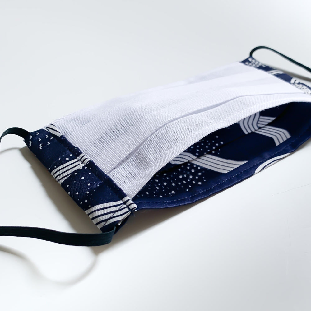 Cotton furoshiki face mask (The Hida Express)
