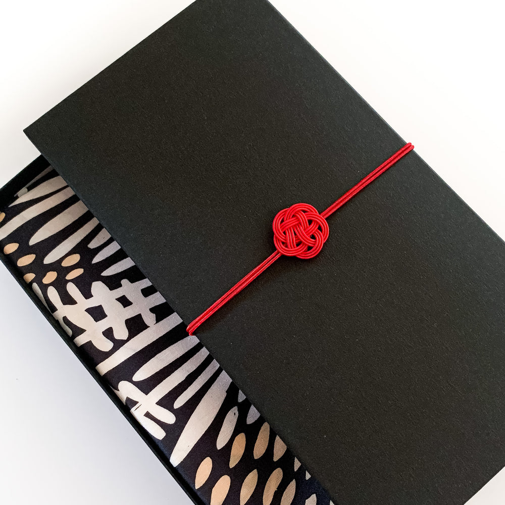 Furoshiki Gift Box (Card) Black