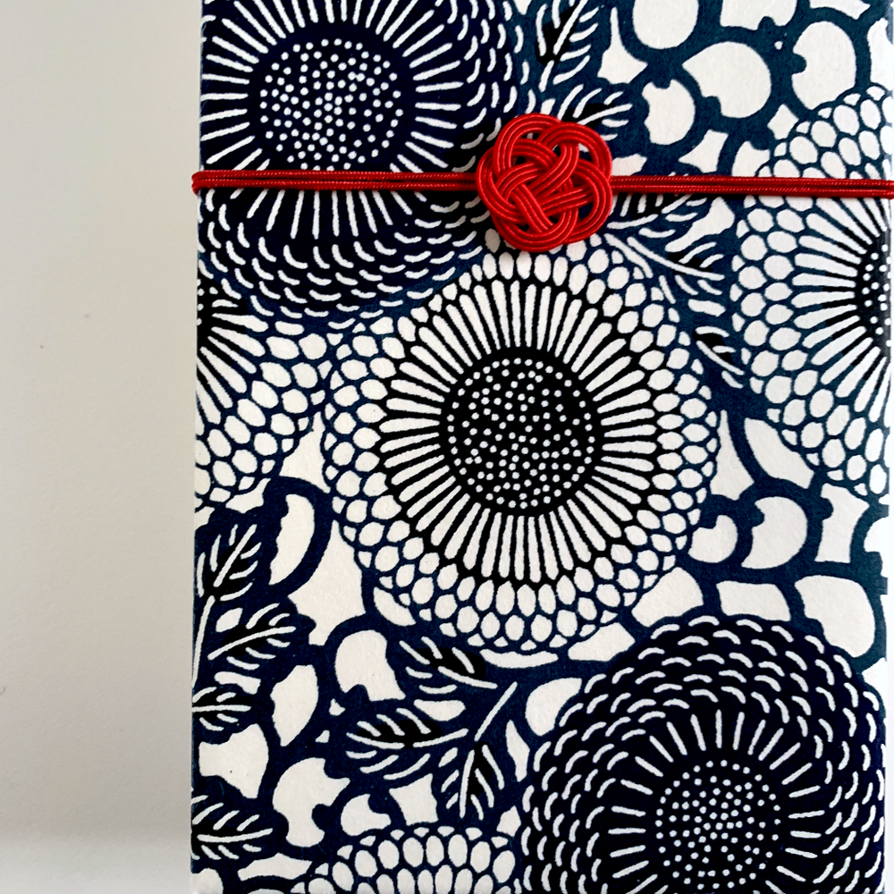 Furoshiki Gift Box (Card with Japanese Washi Paper)