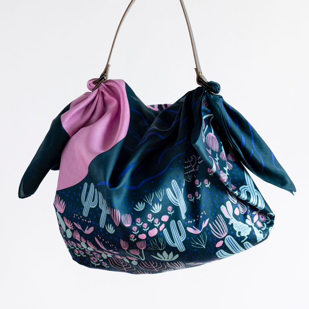 """Arizona"" Midnight Furoshiki Bag Set"