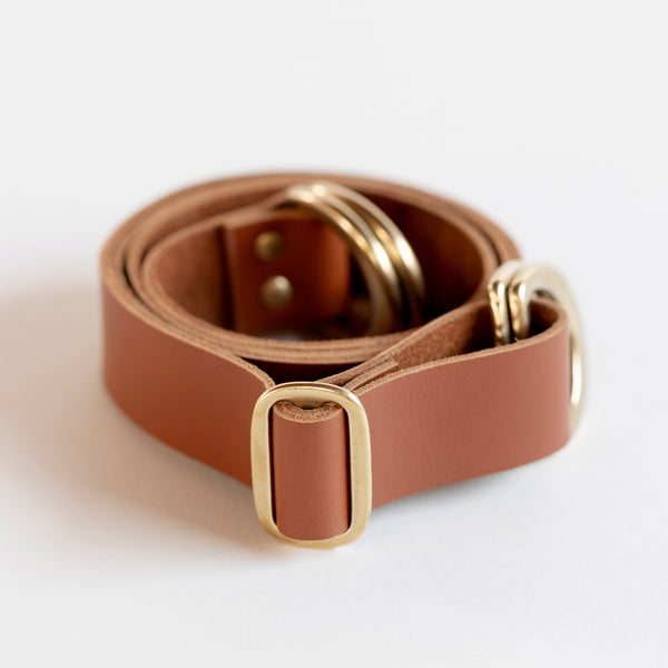 Adjustable Leather Strap (Caramel)