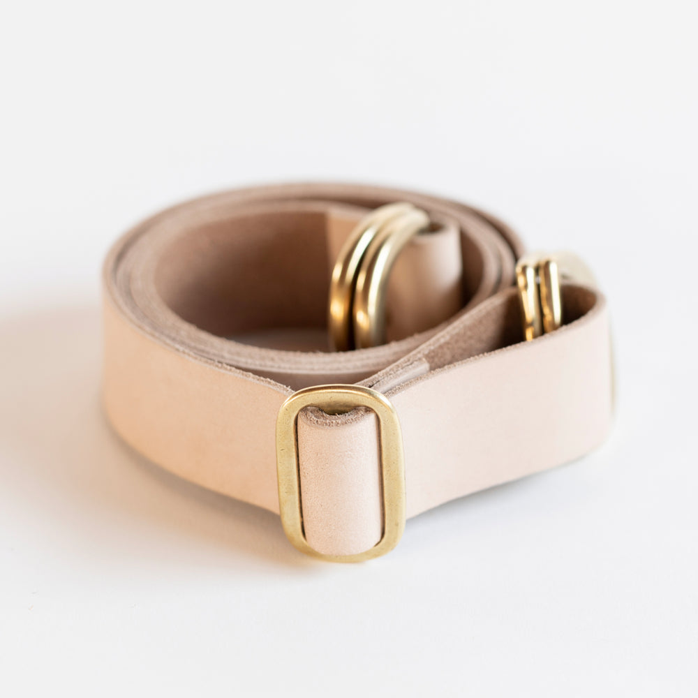 Adjustable Leather Strap (Tan)