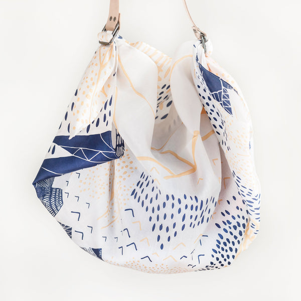 """Mountain Blossom"" furoshiki bag set"
