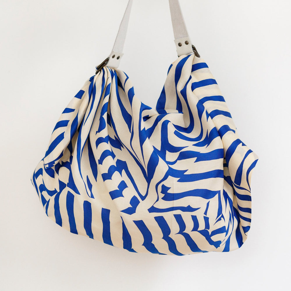 """Stripe"" furoshiki (blue) bag set"