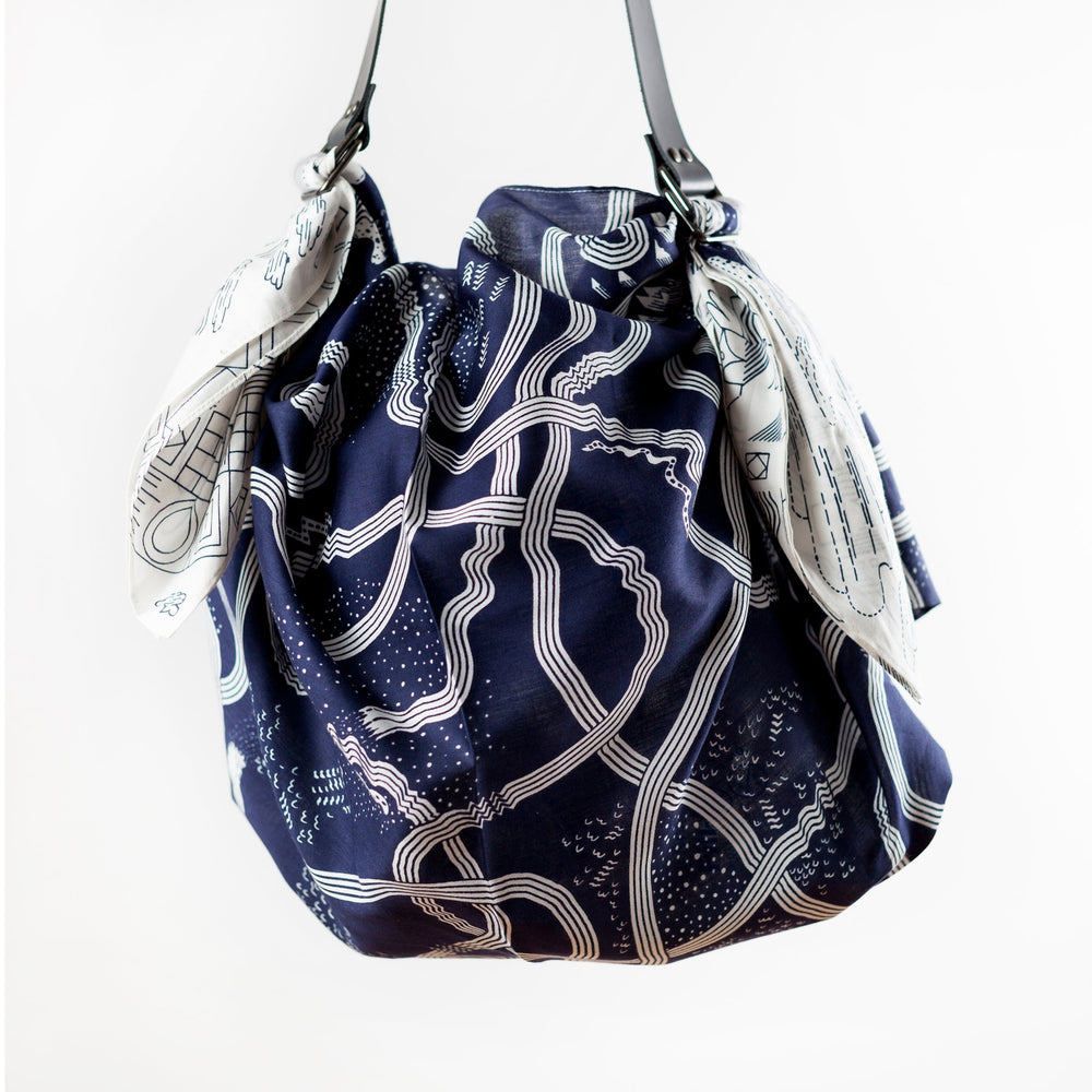 """The Hida Express"" furoshiki bag set"