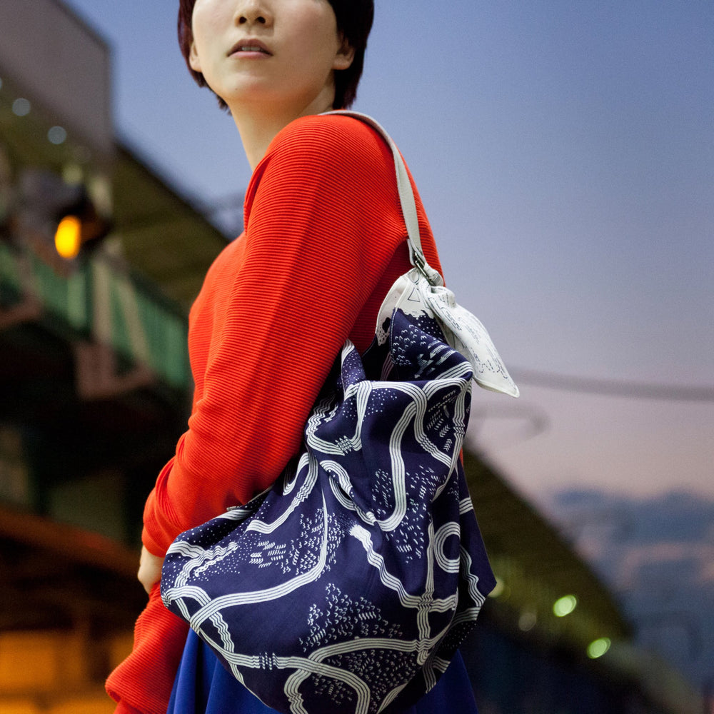 """The Hida Express"" furoshiki bag"