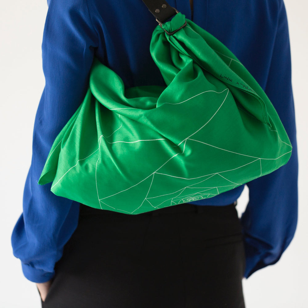 """Triangles"" furoshiki bag"