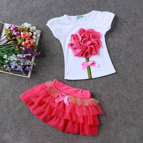 Tutu casual wear for toddlers