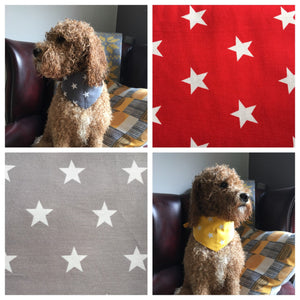 Singapore Star Thread on the Collar Bandana - Various Colours Available