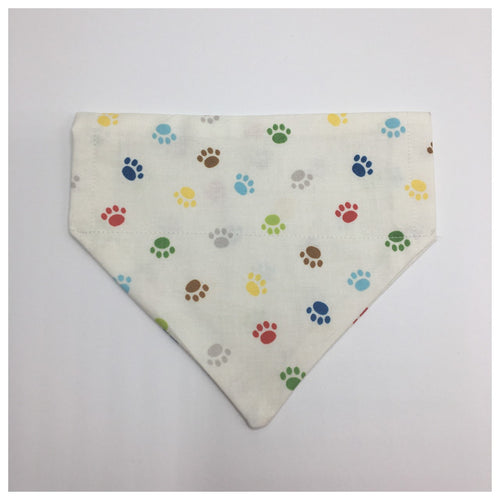 Crazy Paws Thread on Collar Bandana