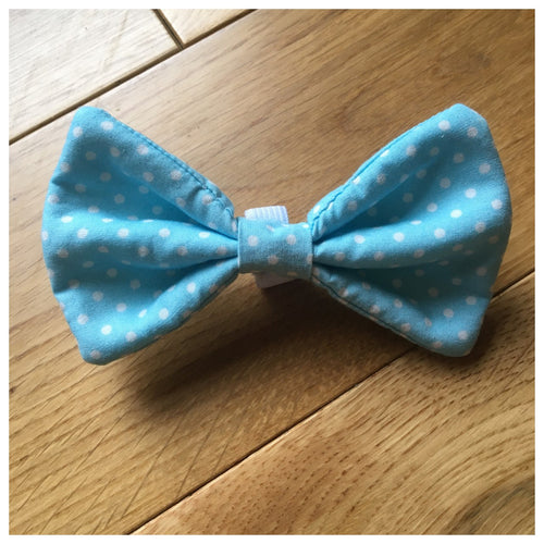 Polka Dot Bowtie - VARIOUS COLOURS AVAILABLE