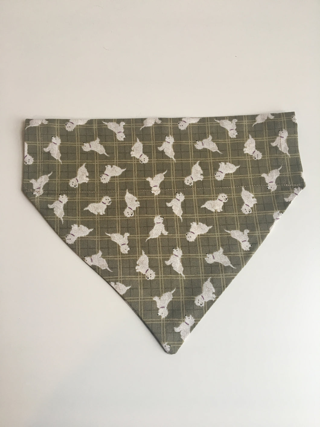 Little White Dog Bandana