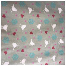 Bird, Hearts & Flowers Thread on the Collar Bandana