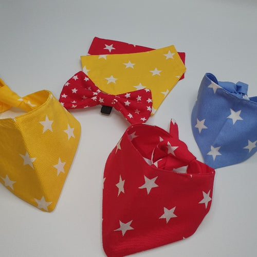 Singapore Star Tie Bandana - Various Colours Available