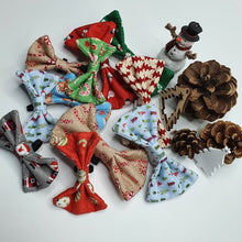 Snowmen Bowtie - Choice of Colour and Sizes