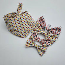 Bumble Bee Bow Tie - various colours and sizes available