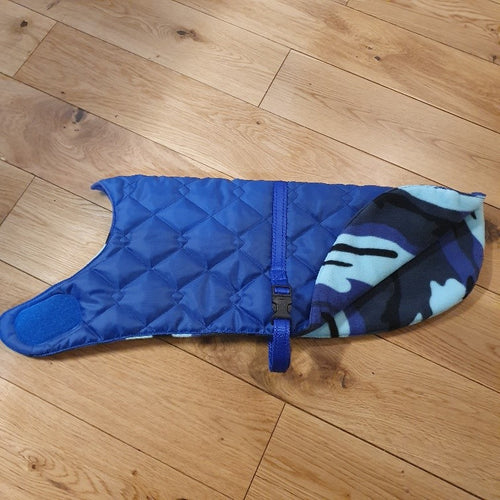 Blue Dog Coat - choice of fleece lining