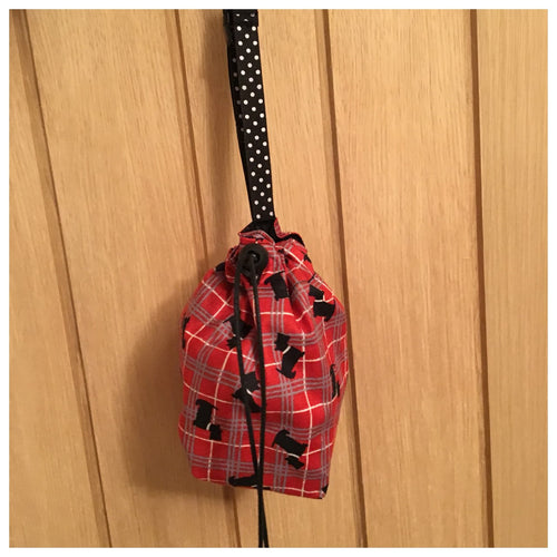 Treat Bag - Red Scottie Dog