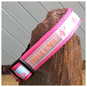 Harold Flamingo Collar - Choice of Colours Available