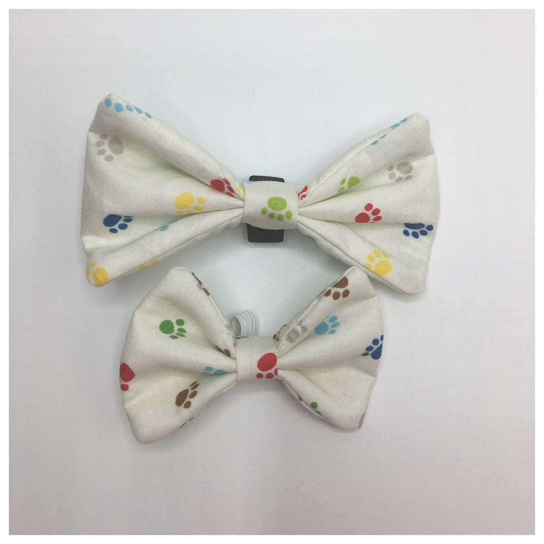 Crazy Paws Bow Tie - Available in 2 sizes