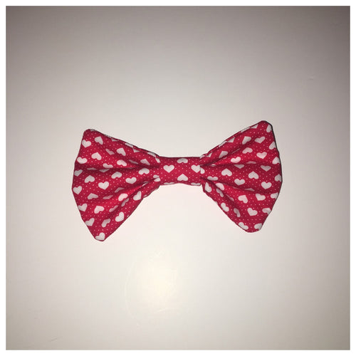 Red Sweetheart Bow Tie