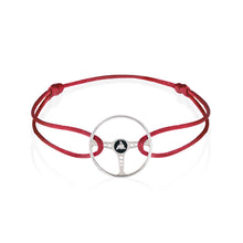 Magma Red Sterling Silver Bracelet