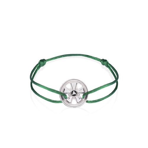 Irish Green 911 Sterling Silver Bracelet