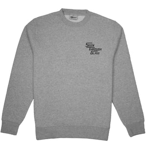 STG Peck Logo Sweater Grey