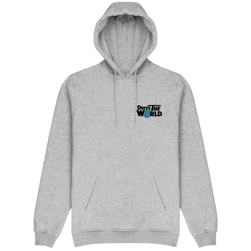 Drive The World Hoodie - Ash