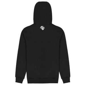 HOAA Hoodie - Black/Orange Fade