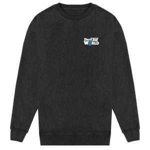 Drive The World Sweater - Charcoal