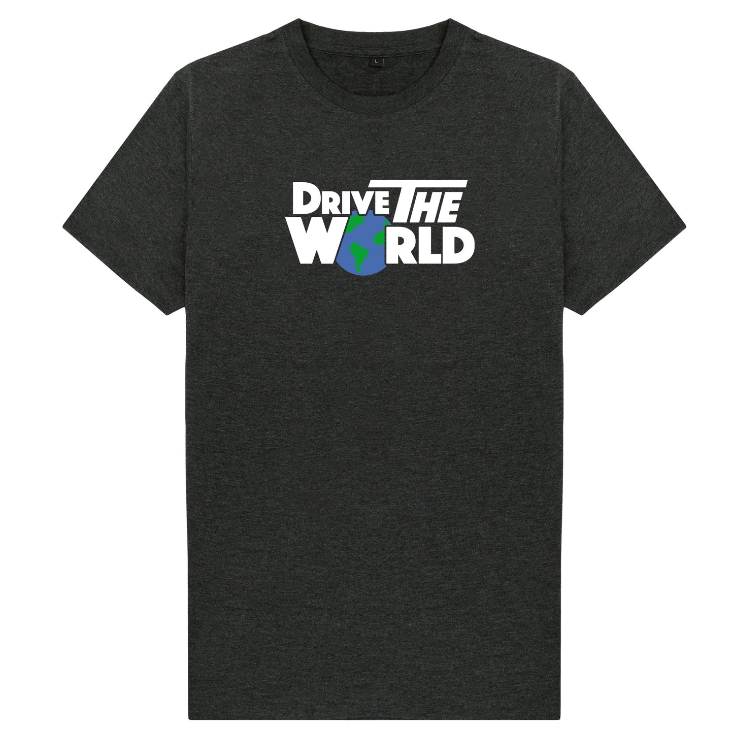 Drive The World T-Shirt - Charcoal