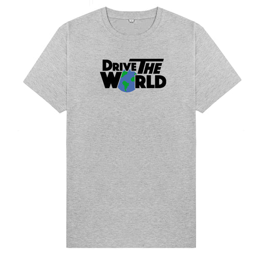Drive The World T-Shirt - Ash
