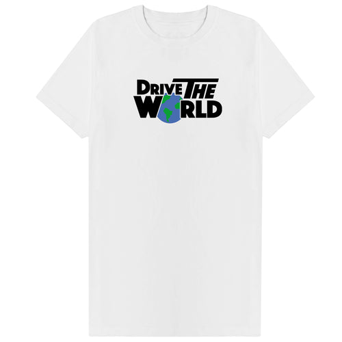 Drive The World T-Shirt - White