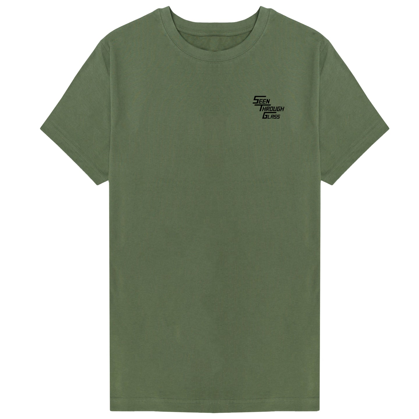 Seen Through Glass T-Shirt - Khaki